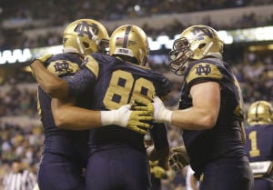 Notre Dame pulls away in 2nd half to defeat Purdue