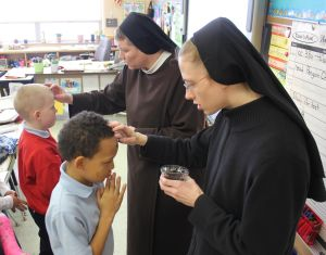 St. John the Evangelist kicks off Lenten season with Ash Wednesday