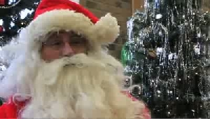 VIDEO: Santa's helper Dave Good