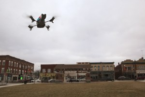 Local Realtors offer a drone with a view