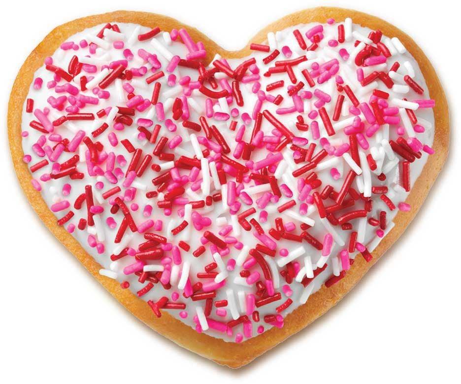 provided by krispy kreme krispy kreme doughnuts is selling heart ...