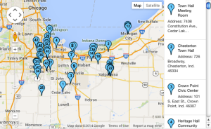 Map: Local Cooling Centers