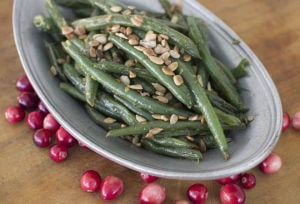 Elevate green beans from Thanksgiving afterthought