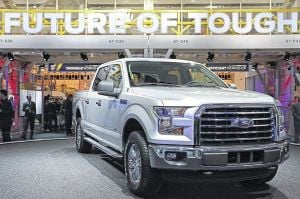 Built pop can tough? Ford F-150 goes aluminum, as steelmakers try to make lighter metal