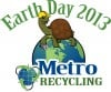 Metro Recycling sponsors Earth Day April 20