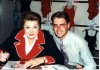 MGM Movie Star Esther Williams with Times Columnist Philip Potempa in June 1996 in Chicago