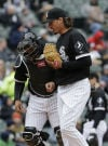 Samardzija tosses six shutout innings, picks up first win with White Sox