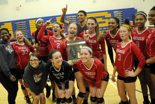 The wait is over for T.F. South girls volleyball team