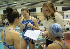 Young swimmers learn importance of charity at annual swim-a-thon