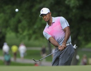 Another decent start for Woods at Firestone