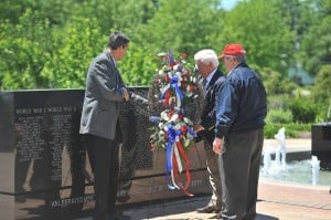 Memorial Day Service inaugurates taps tradition