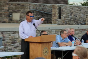 Tracks, trains hot topics at Hammond Mayor's Night Out