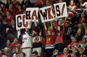 Emotion vies with skill as Chicago Blackhawks duel archrival Detroit Red Wings in Stanley Cup Playoffs