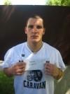 Mt. Carmel football player Adam Connors