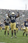 Notre Dame's Jarron Jones recovers from demotion