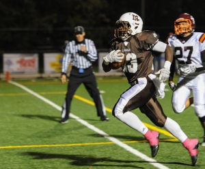 Brother Rice puts a dent in Caravan's playoff hopes