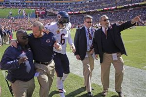 With Cutler, Briggs out, Bears stumble into bye