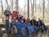 Scouts hike Deep River County Park