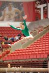 Valparaiso's Sydney Intagliata performs on balance beam Saturday afternoon during the state gymnastics meet.