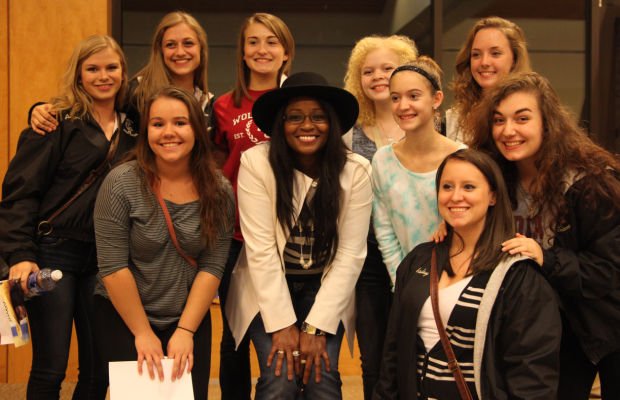 Rock and roll powerhouse inspires students with Q&A
