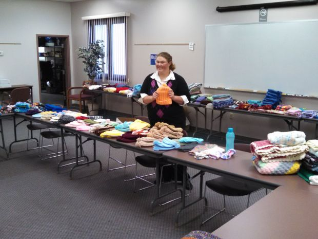 United Way RSVP program collected winter items for local agencies