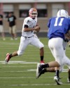 Munster's Mark Strbjak runs at North-South game