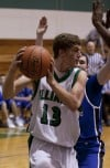 Illiana Christian's Joey Dykstra looks for room