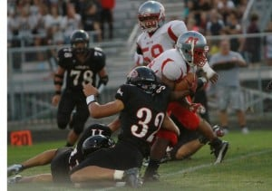 Lowell running game the difference in win over Morton