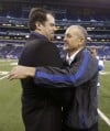 Ryan Grigson, Chuck Pagano hugging