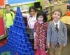Kindergartners celebrate their 100th day of school