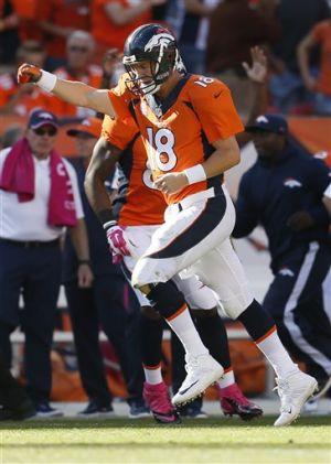 Favre's record on Peyton Manning's back burner