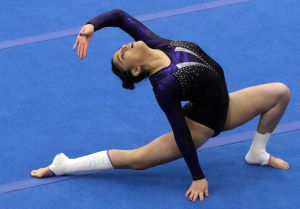Osorio finding her groove for Merrillville gymnastics