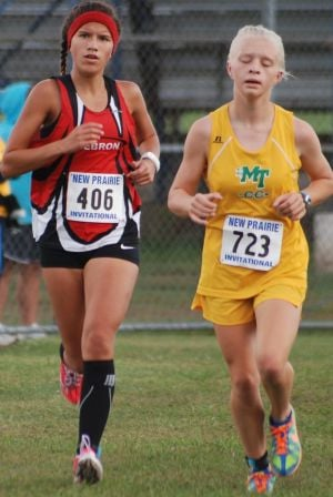 Hebron girls, Werner, Lancioni win at New Prairie Invitational