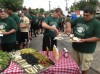 Whiting and Clark football teams break bread together before 80th matchup