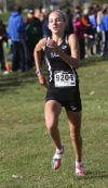 Lake Central's Jennifer Crague was the individual champion