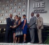 Mosby Award presented to Gary mayor at IBE luncheon