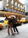 2 guys have a ball as Michael Jackson on Broadway