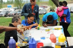 Green urbanism, economy focus of water-centered festivities at Marquette Park