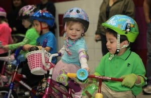 Youngsters hit the tricycles to raise money for St. Jude's Hospital