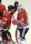 Corey Crawford, Jonathan Toews