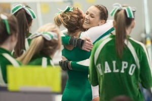 Strong final two rotations lead Valpo gymnasts to DAC title defense