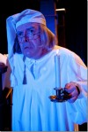 "Actor William Dick stars as Scrooge in ""A Christmas Carol"" at Drury Lane Theatre Oakbrook in 2010"