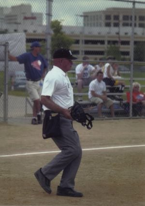 Longtime umpire Jacques 'Jack' Campbell found his calling