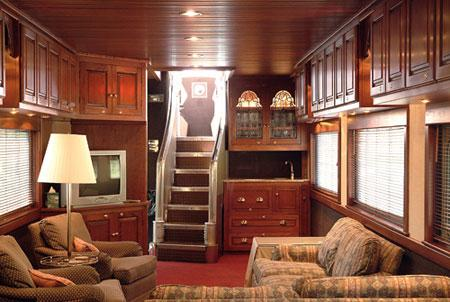 george pullman 39 s historic private train cars still riding the rails offbeat with phil potempa. Black Bedroom Furniture Sets. Home Design Ideas