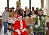College class plays Santa