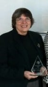 Not a social worker by trade, honoree serves from the heart