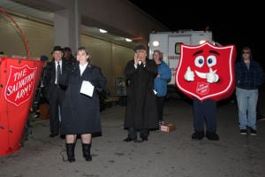 Salvation Army kicks off kettle campaign