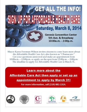 Health Care Enrollment Fair