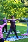 Yoga is free Fit Friday session