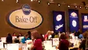 VIDEO: Julie Beckwith Cooking at the 2012 Pillsbury Bake-Off